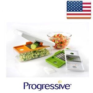 קוצץ חותך ופורס ירקות במכשיר אחד PROGRESSIVE