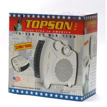 מפזר חום שוכב עומד 2 ב 1 דגם 901 טופסון