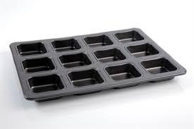 "ARCOSTEEL תבנית 12 שקעים מרובעים 6X6X2.5 ס""מ - מיקי שמו"