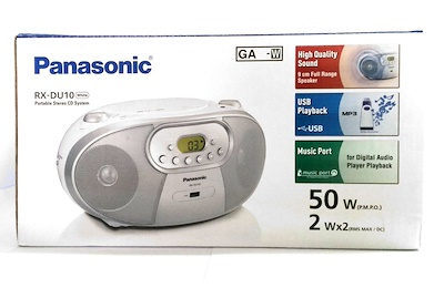 מערכת-שמע-ניידת-Panasonic-RXDU10-פנסוניק-2